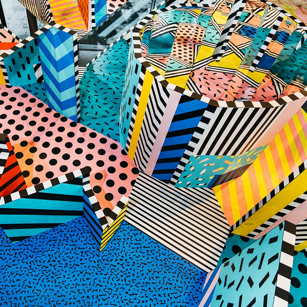 27db733b63047 ... Camille Walala London a purveyor of positivity ...