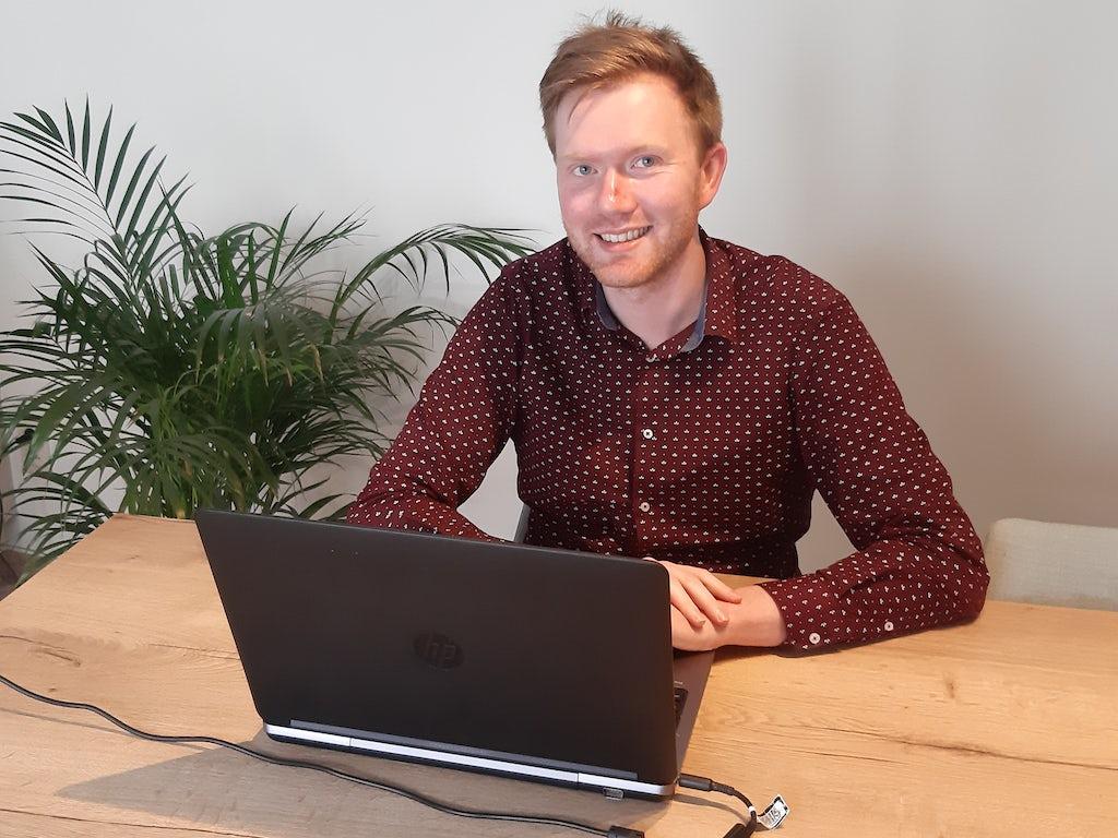 Maarten Cant, recruiter Stad Antwerpen