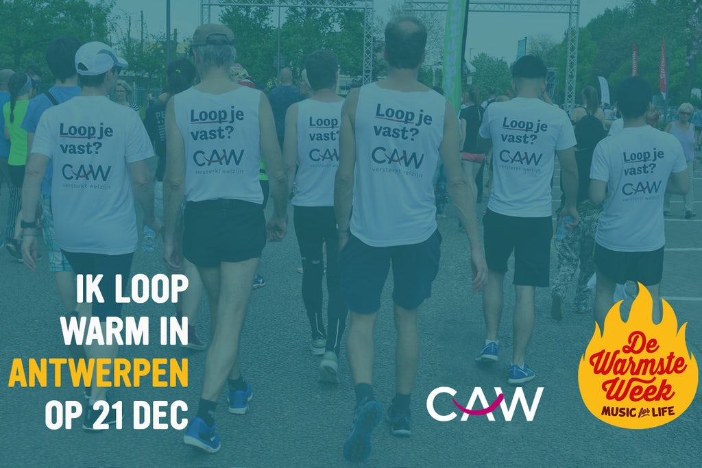 CAW Warmste Week Warmathon