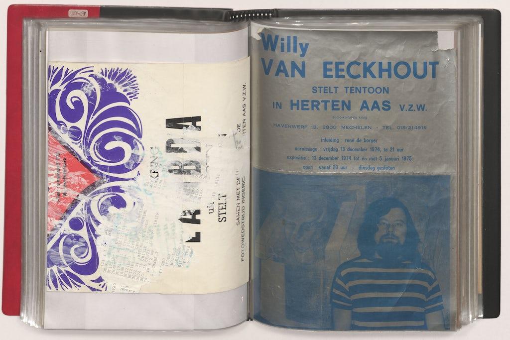 Pagina's uit de kaft 1973-1976