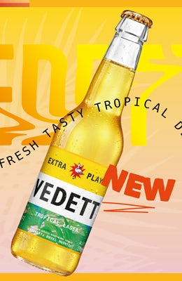 Vedett Extra Playa Tropical Lager
