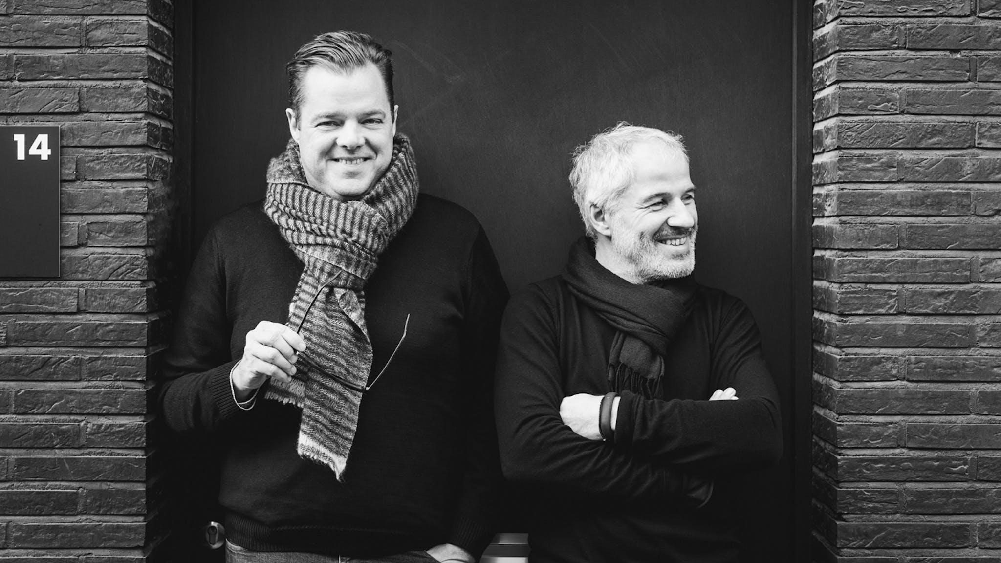 Gert Van den Steen en Christian Van Suetendael